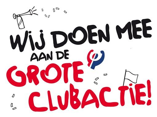 Start Grote Clubactie zaterdag 15 september