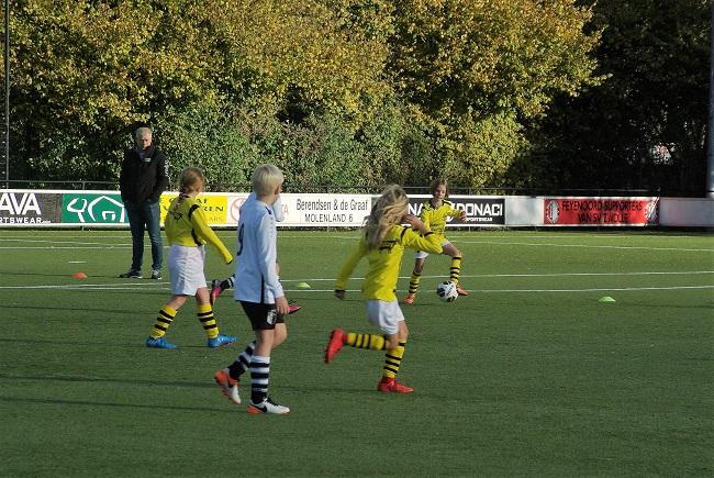 Meisjesteam SV Zwolle JO10-2 boekt zege 13