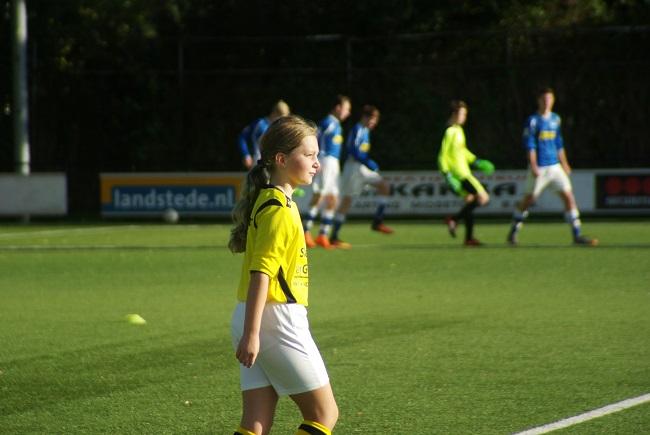 Meisjesteam SV Zwolle JO10-2 boekt zege 36
