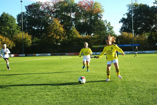 Meisjesteam SV Zwolle JO10-2 boekt zege 2