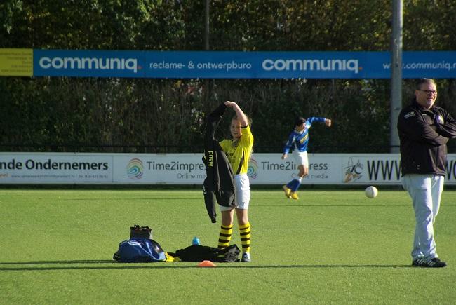 Meisjesteam SV Zwolle JO10-2 boekt zege 38