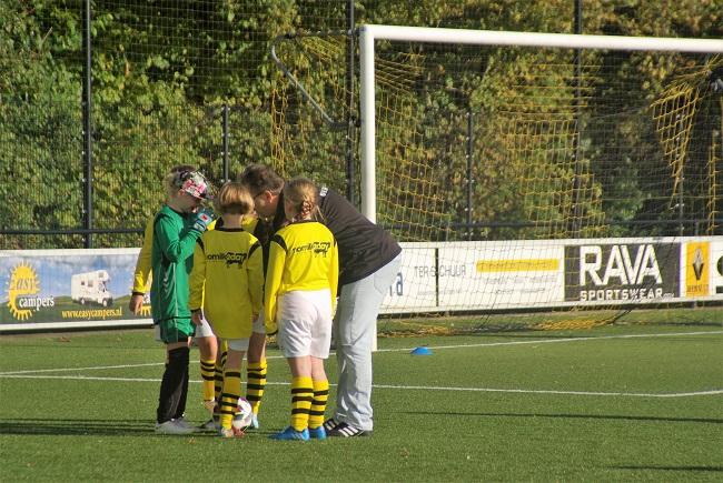 Meisjesteam SV Zwolle JO10-2 boekt zege 40
