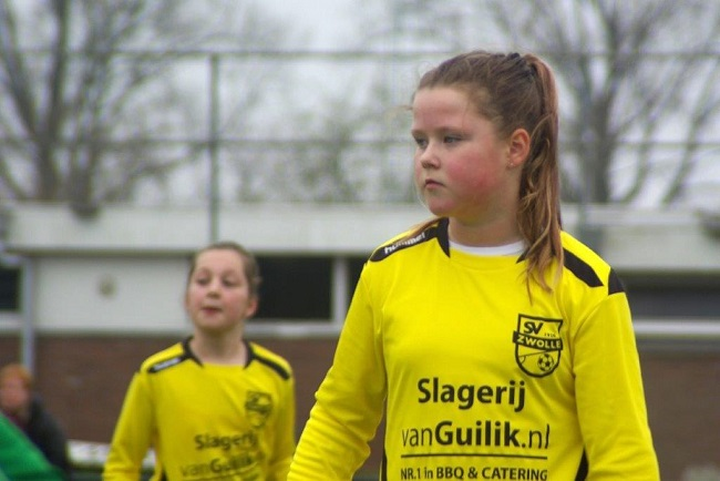 Meiden SV Zwolle JO10-2 hebben de langste adem 13