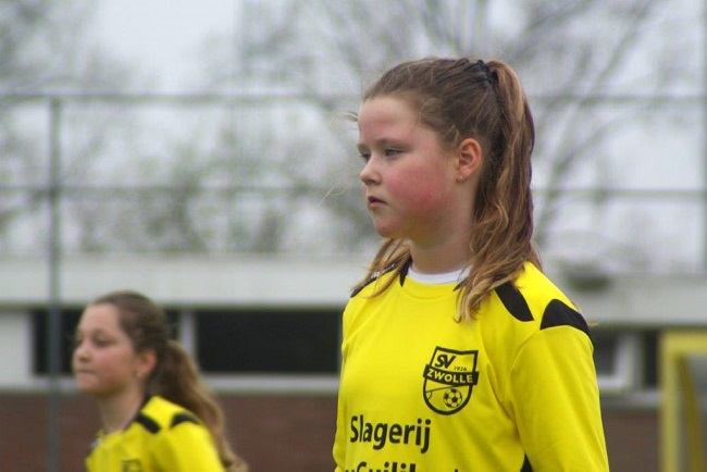 Meiden SV Zwolle JO10-2 hebben de langste adem 14