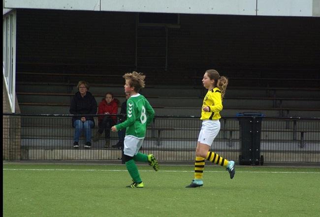Meiden SV Zwolle JO10-2 hebben de langste adem 17