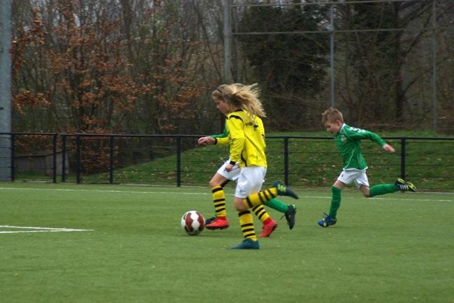 Meiden SV Zwolle JO10-2 hebben de langste adem 19