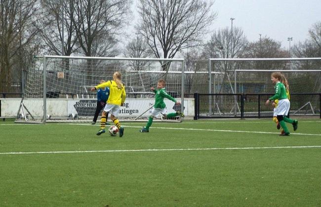 Meiden SV Zwolle JO10-2 hebben de langste adem 20