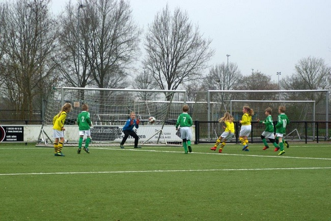 Meiden SV Zwolle JO10-2 hebben de langste adem 21