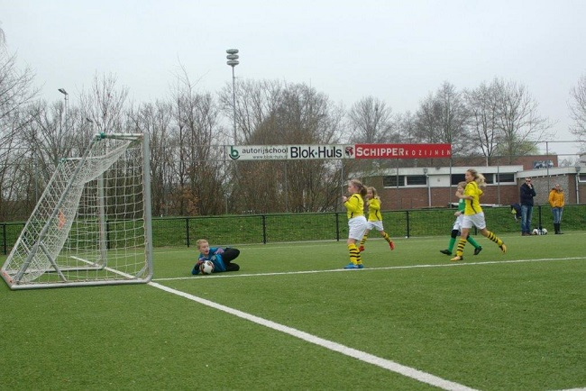 Meiden SV Zwolle JO10-2 hebben de langste adem 26