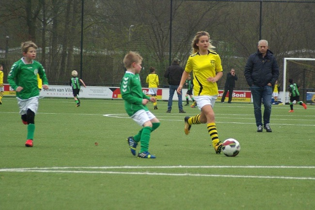 Meiden SV Zwolle JO10-2 hebben de langste adem 28