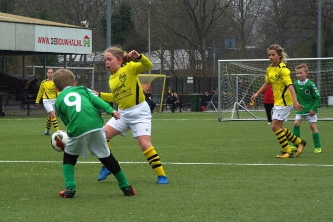 Meiden SV Zwolle JO10-2 hebben de langste adem 29