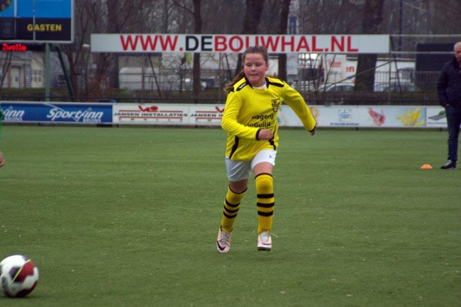 Meiden SV Zwolle JO10-2 hebben de langste adem 2