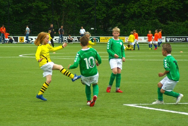 Laatste competitiewedstrijd van meiden SV Zwolle JO10-2G 8