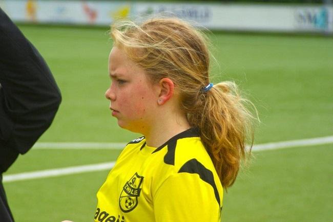 Laatste competitiewedstrijd van meiden SV Zwolle JO10-2G 9