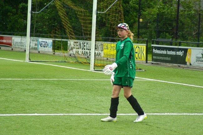 Laatste competitiewedstrijd van meiden SV Zwolle JO10-2G 7
