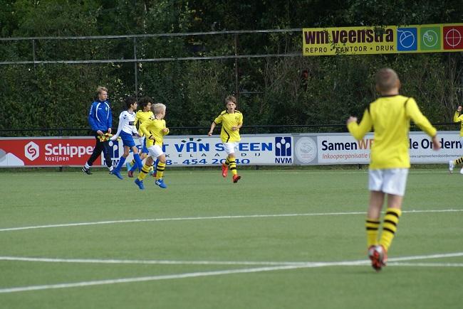 Buitenspelers op dreef bij winnend SV Zwolle JO13-1
