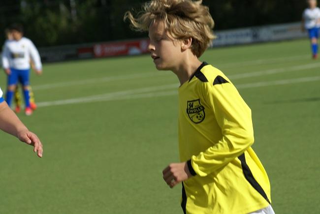 Buitenspelers op dreef bij winnend SV Zwolle JO13-1 1