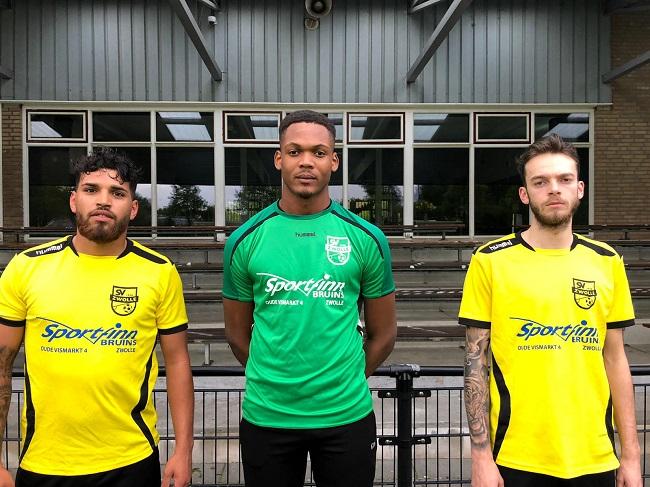 Drie nieuwelingen in selectie SV Zwolle