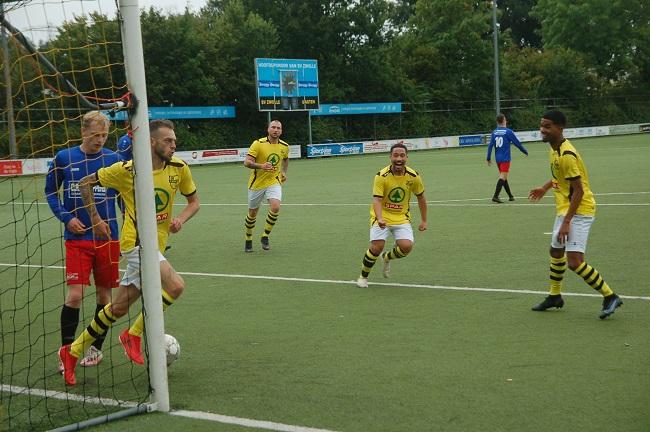 Eerste punten voor SV Zwolle een feit door simpele zege