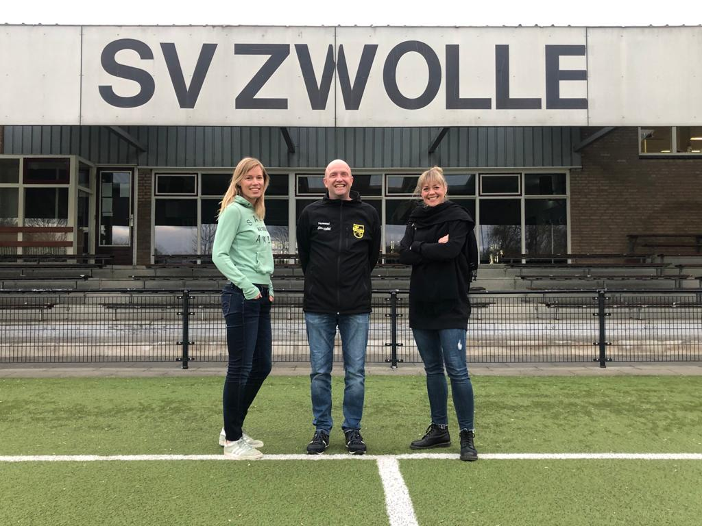 SV Zwolle heeft drie nieuwe coördinatoren