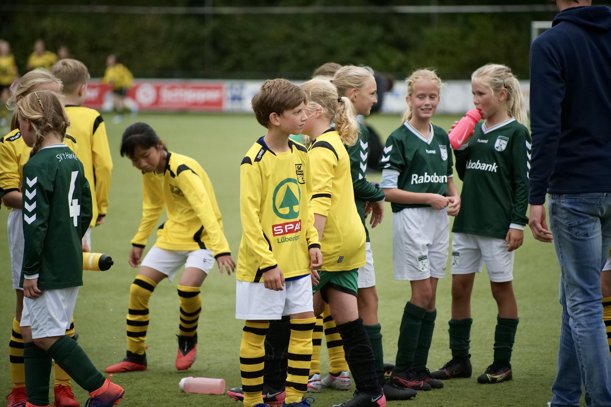 SV Zwolle JO11-3 krijgt kansen, maar 't Harde MO11-1 wint 1