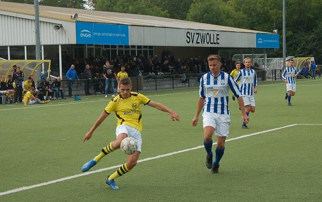 SV Zwolle in beker tegen Colmschate, Groen Wit en Lettele