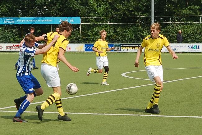 Gelijkspel bij SV Zwolle tegen USV